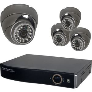 4 Camera HD-SDI Security System (HD-SDI-CAM-DVR-04-PACK)