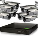 8 HD-CVI Complete Security IR Bullet Camera system 720p (CVI8-8Pro1B)