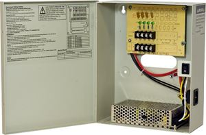 DC 12V 4CH 10A Non-Fused Breaker Power Supply box (TR-C12VDC04P10A)