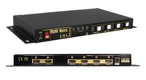 Professional 2 in 4 out (2 x 4) True HDMI Matrix Slim Size (OP-HKTM0204MH)
