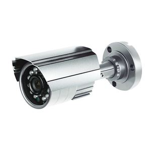 520 TVL Bullet Security Camera PixelPlus 3.6mm varifocal lens Indoor Outdoor silver (CMR8952)