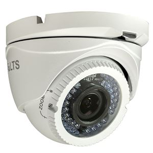 1000 TVL Outdoor IR Dome Security Camera 2.8-12mm Varifocal Lens (CMT1813)