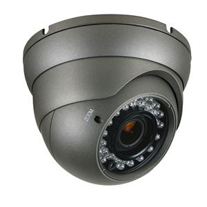 700 TVL Outdoor IR Dome Security Camera 2.8-12mm Varifocal Lens (CMT2070B)