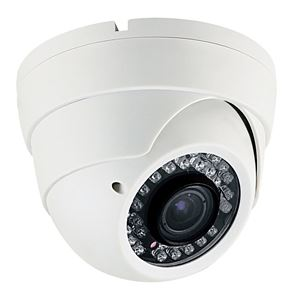 700 TVL Outdoor IR Dome Security Camera 2.8-12mm Varifocal Lens (CMT2073P)