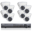 Picture of 8 HD-TVI Dome Camera Security System