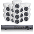 16 HD-TVI Dome Camera System Package