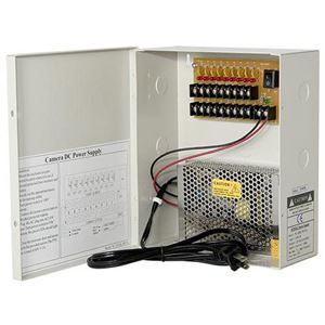 DC 12V 9CH 10A Non-Fused Breaker Power Supply box (TR-C12VDC09P10A)