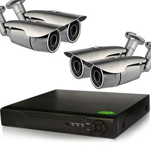 4 HD-CVI 720p IR Bullet Cameras Security System kit (CVI4-4Pro1B)