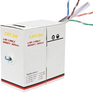 1000ft Premium CAT5e UTP Cable Box (CB-C5E-C)