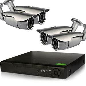 4 Bullet IP Camera Security System, 1.3MP IR Cameras (NVR8-4Pro2B)