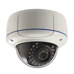 VeoTek 2MP Vandalproof IR Dome IP Camera 2.8-12mm 1080p (VT-IPH3442)