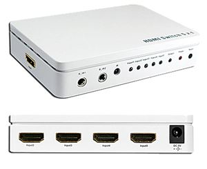 5 in 1 out (5 x 1) HDMI Switcher (OP-HKSW0501PH)