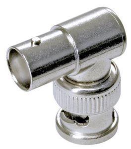 1 BNC Plug Male > 1 BNC Jack Female L Connector (CN-SB135)
