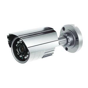 600 TVL Bullet Security Camera PixelPlus 3.6mm Varifocal Lens Indoor Outdoor Silver (CMR8962)