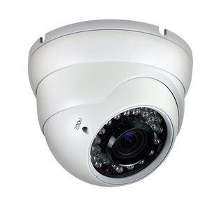 700 TVL Outdoor IR Dome Security Camera 2.8-12mm Varifocal Lens (CMT2070D)