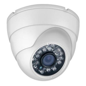 1000 TVL Outdoor IR Dome Security Camera 3.6mm Fixed Lens (CMT2412)