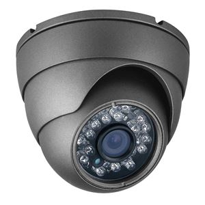 700 TVL Outdoor IR Dome Security Camera 960H 3.6mm Fixed Lens (CMT2472B)