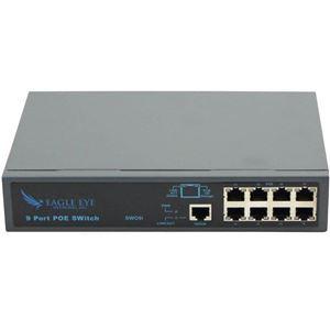 9 Port Switch 8 Port PoE 1 Uplink  (POE-SW09i)